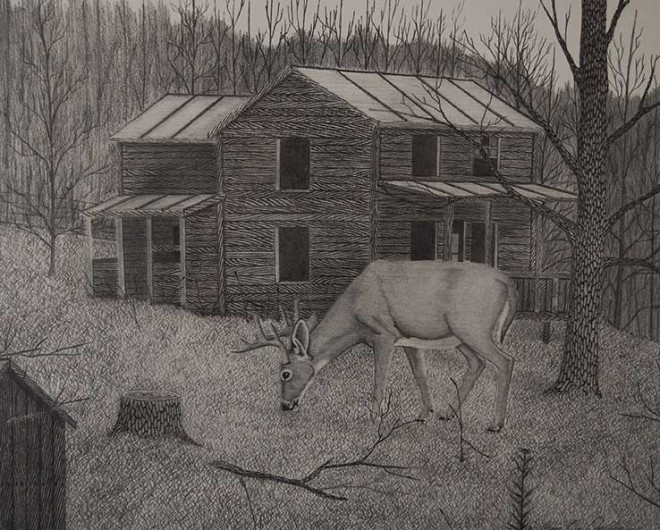 Old Anderson Place, 19x16 $35 Small 5x7 $15