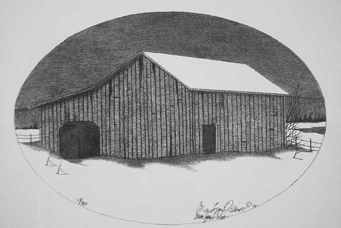 Remote barn