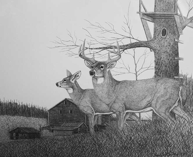 Old Bow Stand