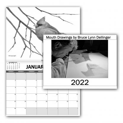 Preview of 2022 calendar by Bruce Dellinger